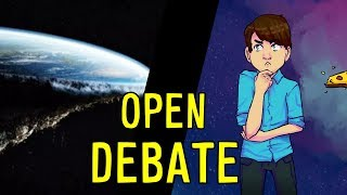 Rightthehand Joins The Battle? (Get Ready for a Dumpster Fire) - Open Flat Earth Debate