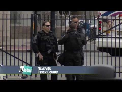 Increased Police Presence But Few Jangled Nerves at Newark Penn Station