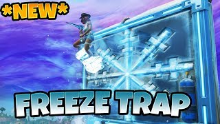 *NEW* FREEZE TRAP Fortnite - Chiller Update | Fortnite Funny Fails & WTF Moments