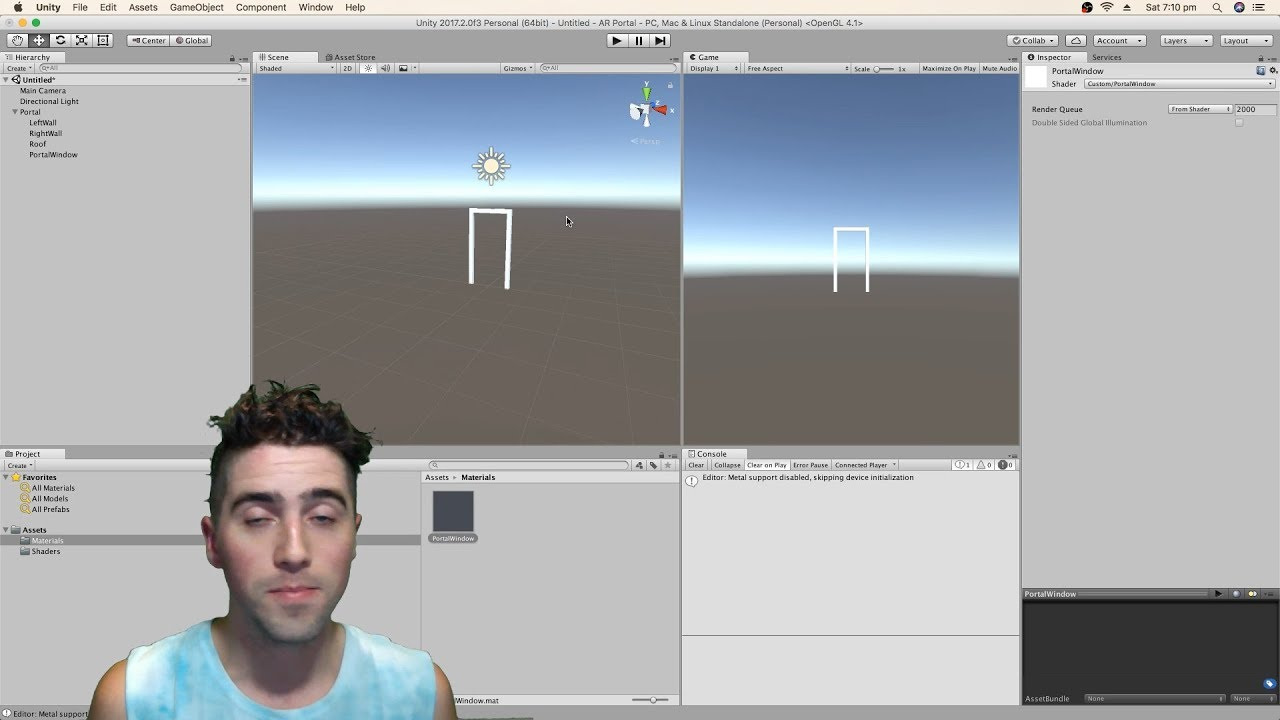 2: Portal Shader - How To Unity AR Portal