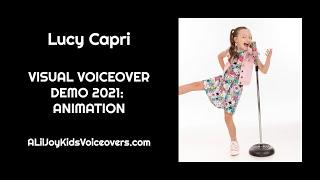 Lucy Capri: 2021 Visual Voiceover Demo - Animation