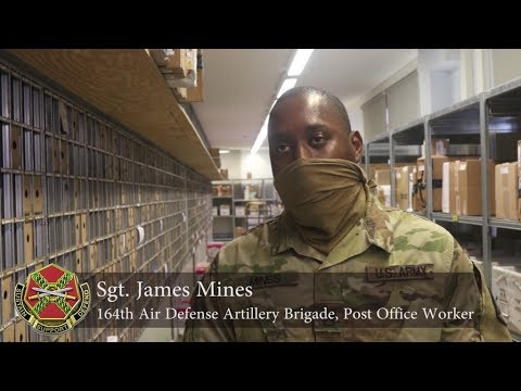 Soldiers Assist Post Office Workers To Get Mail To The U.S. Army Garrison Ansbach Community.