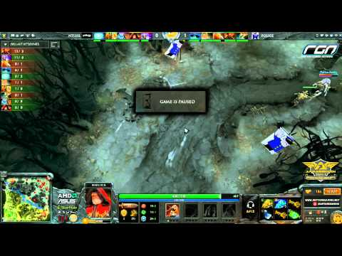 Armaggeddon Grand Slam Asia 2013 Singapore Qualifiers, Police VS Nothing Is - casted by Afiz