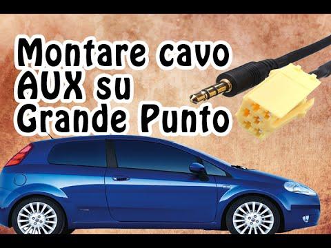 Tutorial 10 - Montare Cavo AUX su Fiat Grande Punto