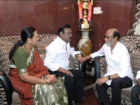 Rajinikanth Vijayakanth Meet ரஜினிகாந்த் விஜயகாந்த சந்திப்பு