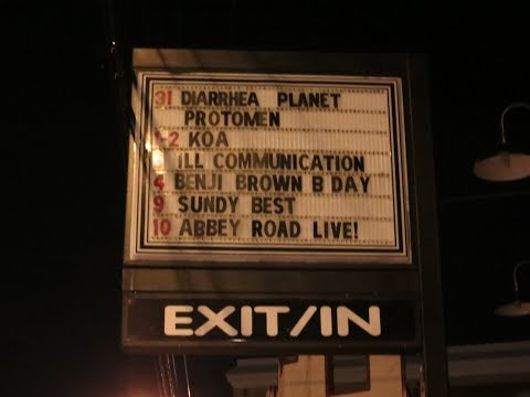 """Diarrhea Planet, New Year's Eve 2014 """"Shred Til You're Dead"""" @ Exit/In, 720p, Full Show"""