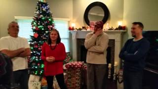 Military Surprise !! Our Sailor came home for Christmas !