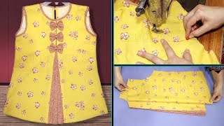 Baby Girl Frock Cutting And Stitching || Frock For Girls || Stylish Baby Top