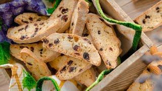 БИСКОТТИ или КАНТУЧЧИ - печенье с миндалём / новогодняя выпечка к кофе / простой рецепт