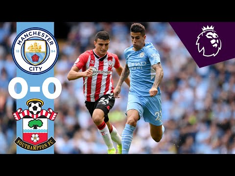 Manchester City Southampton Goals And Highlights