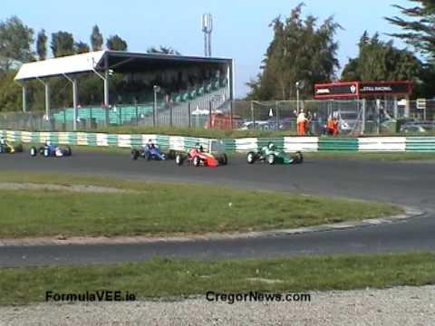 Irish Formula Vee Race 2, Mondello Park 12 Sep 2009 Single Seater Action