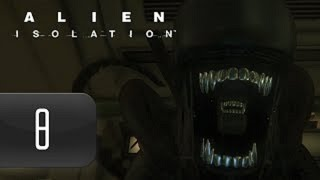 Alien: Isolation [HD/Blind] Playthrough part 8 (Gas Torch Acquired)