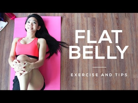 Flat Belly Tutorial and Exercise Tips