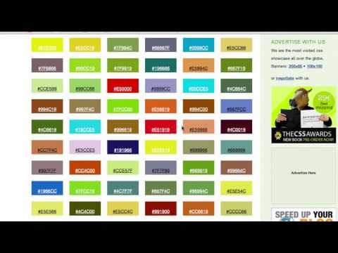 Learn Website Color Combinations With CSSMANIA