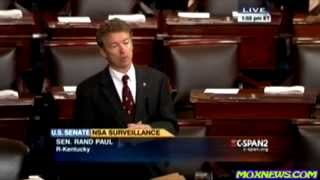 """This Is What We Fought The Revolution Over!"" Rand Paul Filibusters Patriot Act Reauthorization pt.1"