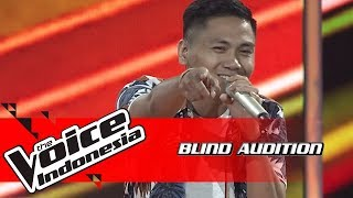 Melky - Lapang Dada | Blind Auditions | The Voice Indonesia GTV 2018