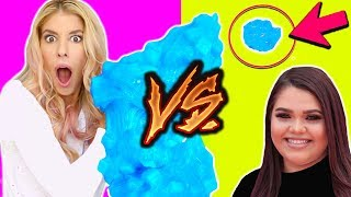 i tried following a Diy Jelly Cube Slime Karina Garcia Tutorial   Giant vs Mini