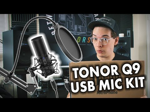 Budget USB Microphone Kit Tonor Q9 Review