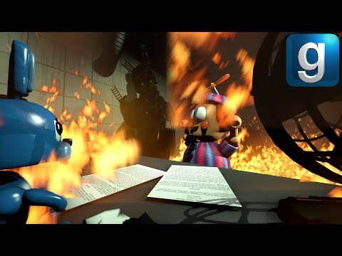 Gmod FNAF | Burning Five Nights at Freddy's 3 To The Ground!!! [Part 2] thumbnail