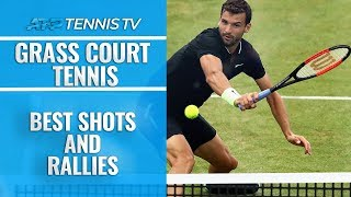 Best ATP Grass Court Shots And Rallies!