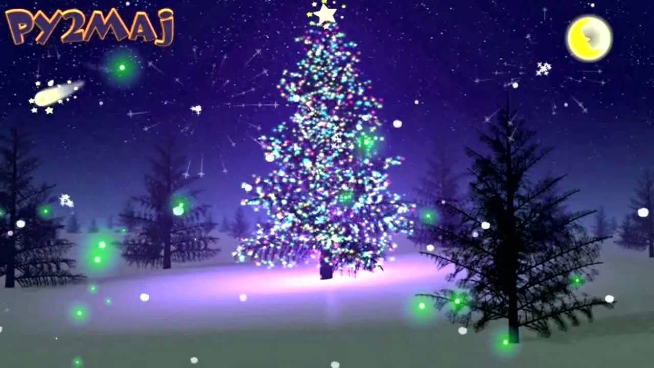 xmas music silent night feliz natal merry christmas animation flash