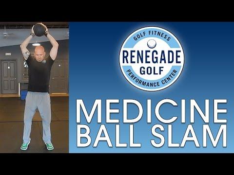 Golf Power Slam – Medicine Ball