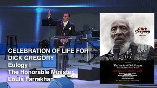 Dick Gregory Celebration of Life - Minister Louis Farrakhan Eulogy (HD)