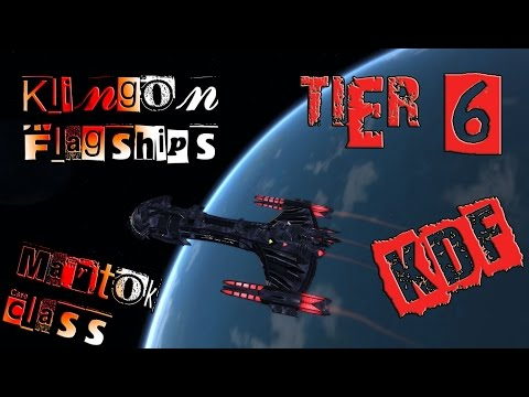 Klingon Flagships, War Battlecruiser,  Martok Class [T6] with all ship visuals - Star Trek Online