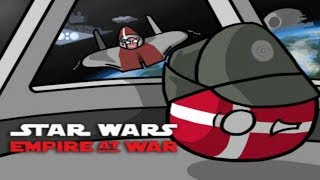 STAR WARS Empire at War MP in a nutshell #4(Unwise to lower your defenses!)