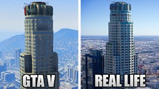 GTA 5 LOCATIONS IN REAL LIFE! (GTA 5 vs REAL LIFE)