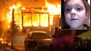8-year-old dies saving six people from trailer fire