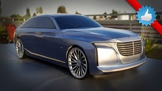 2021 Mercedes-Benz U-Class Concept (Uber-Saloon Placed Above the S-Class)
