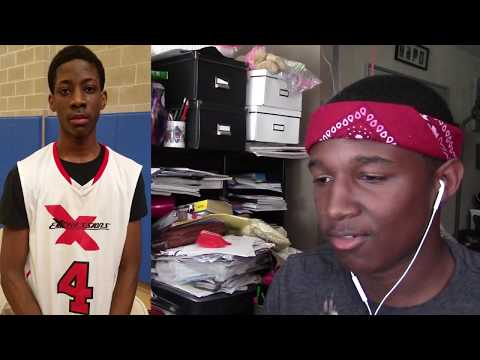 Reaction  9th Grader Terrence Clarke S OUT at DRich TV Camp!!  6'6 Wing from Massachusetts
