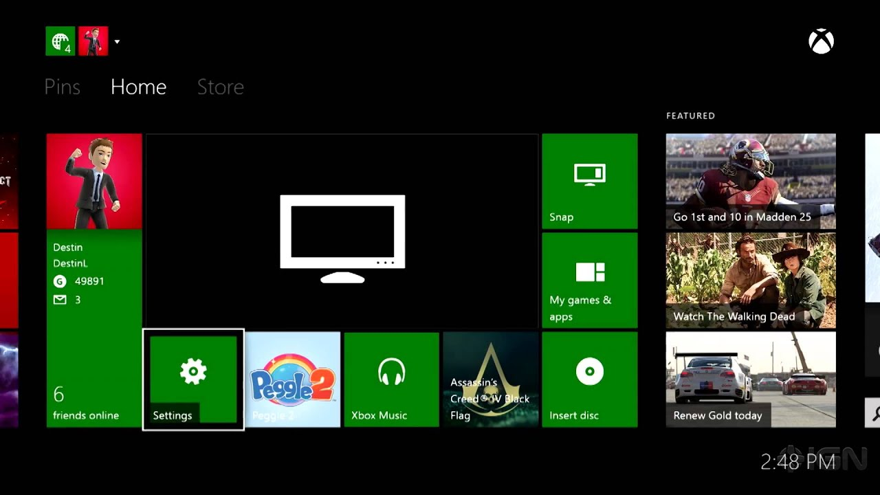 Xbox One: How To Setup Your TV Options