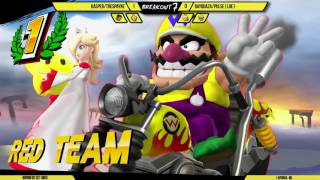 Breakout #7: Kasper/Trespayne (Little Mac/Cloud) vs Rayquaza/Pulse|LOE1 (RosaLuma/Wario)