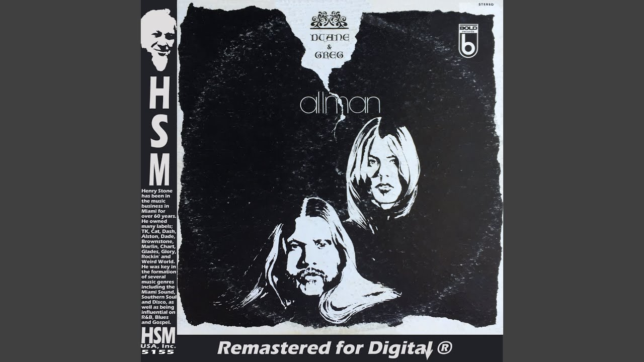 Allman Brothers Take Old Friend 'Melissa' Into Hot 100