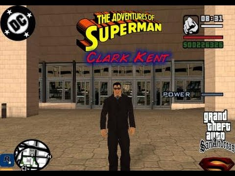 Gta San Andreas How To Be Superman Cheat Gta San Andreas Superman Cheat Parody