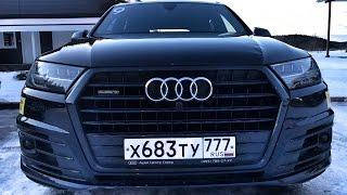 Валенки Audi + 10 Q7 3 0 TDI!) Карелия, день 1   добираемся до точки старта приключений на льду   )