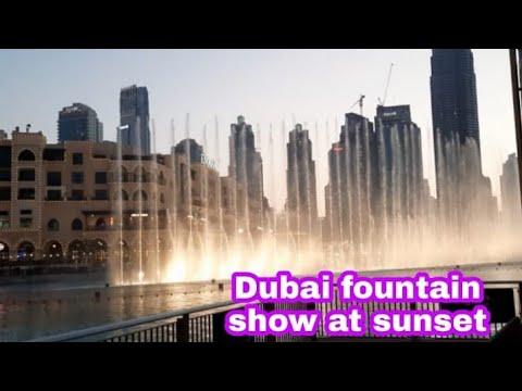 Dubai Fountain Show@Burj Khalifa lDubai MalllDown Town DubailLight ShowlExplore Dubai 2021 Ain Dubai