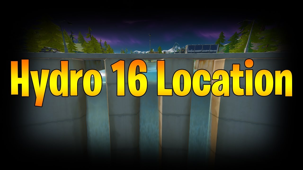 Fortnite Hydro 16 Location! - YouTube