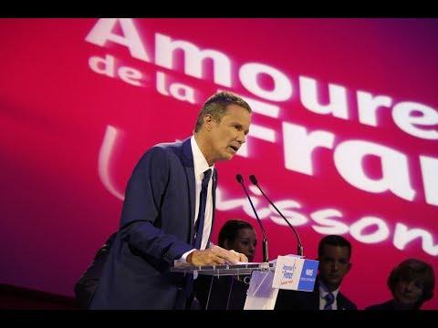 VIe Congrès de Debout La France   Discours de Nicolas Dupont-Aignan