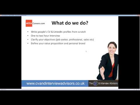 2014 02 17 19 15 How to use LinkedIn for job hunting, networking and influencing   ACCA