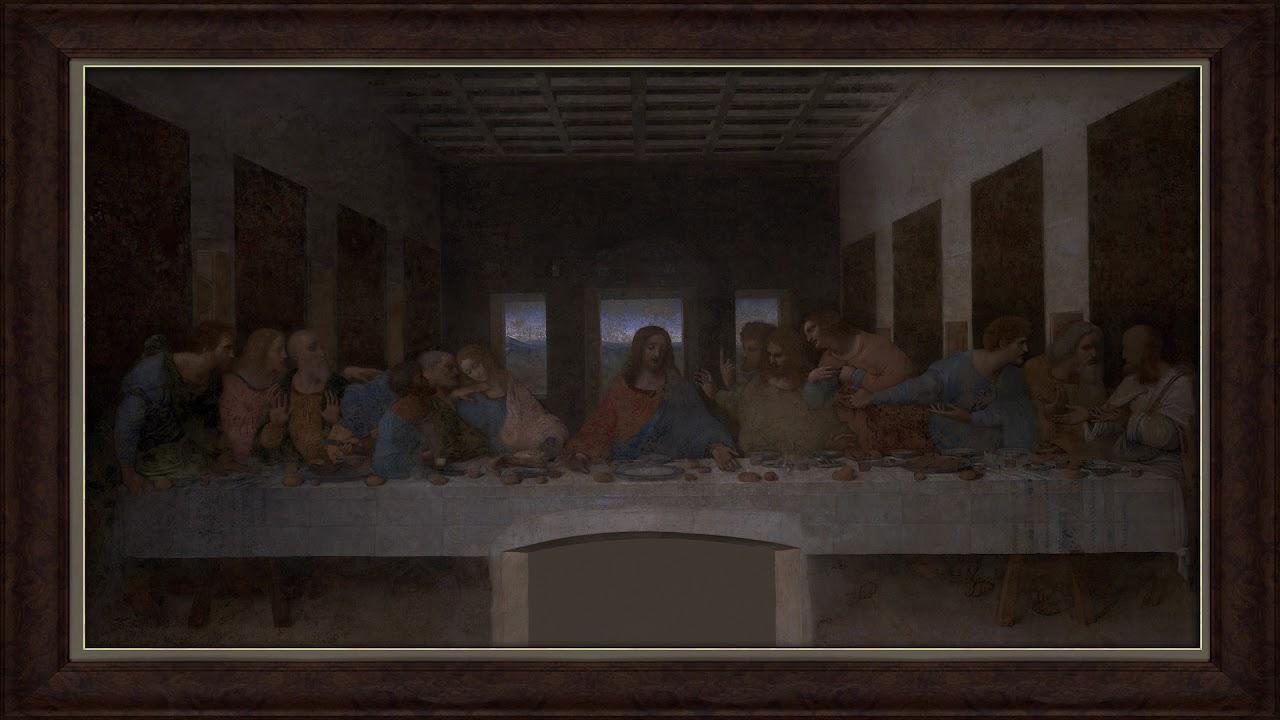 The Last Supper By Leonardo Da Vinci Art As Wallpaper For Tv
