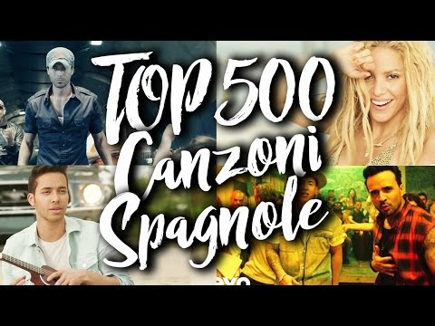 Top 500 Migliori Canzoni Spagnoli di Tutti i Tempi