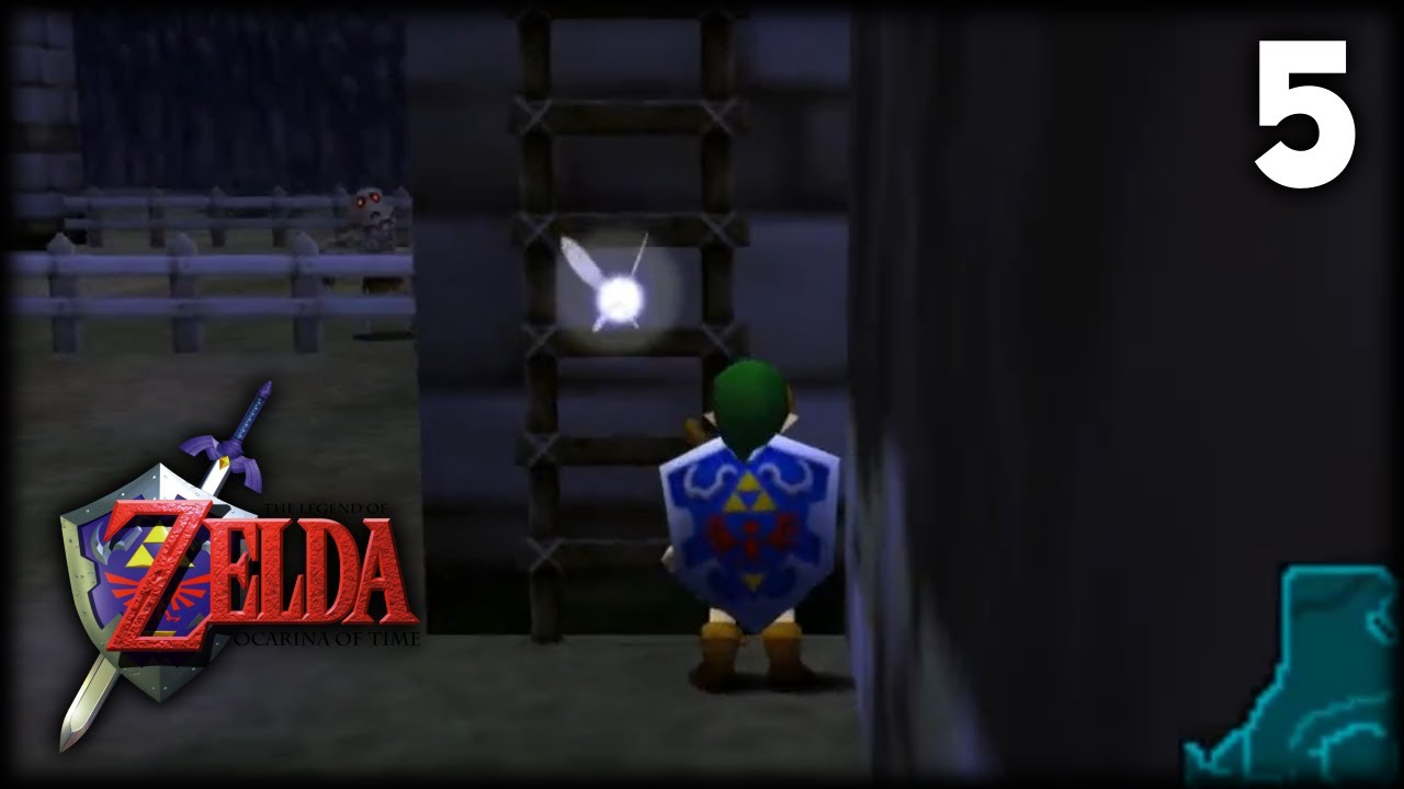 5 • The Legend of Zelda Ocarina Of Time • Lake Hylia