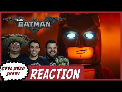 LEGO Batman Trailer 4 Reaction | Cool Nerd Show - YouTube