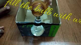 Homemade Projector In 2 minutes using bulb and shoe box ! How To make smart  Phone Projector !