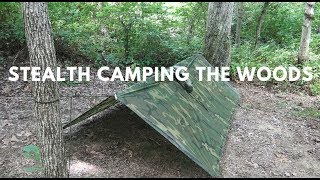 Stealth Camping and Low Profile Shelters