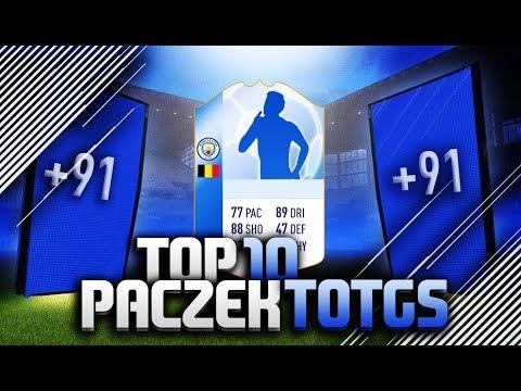 FIFA 18 | TOP 10 PACZEK TOTGS POLAKÓW!