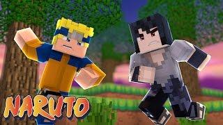 Minecraft : Naruto c #9 - NARUTO E SASUKE!